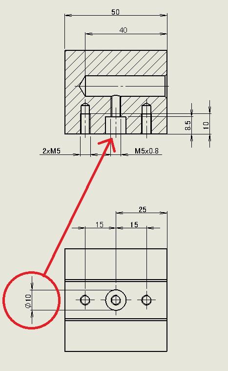 【図面テクニック】寸法の表示をほかのビューに移動する
