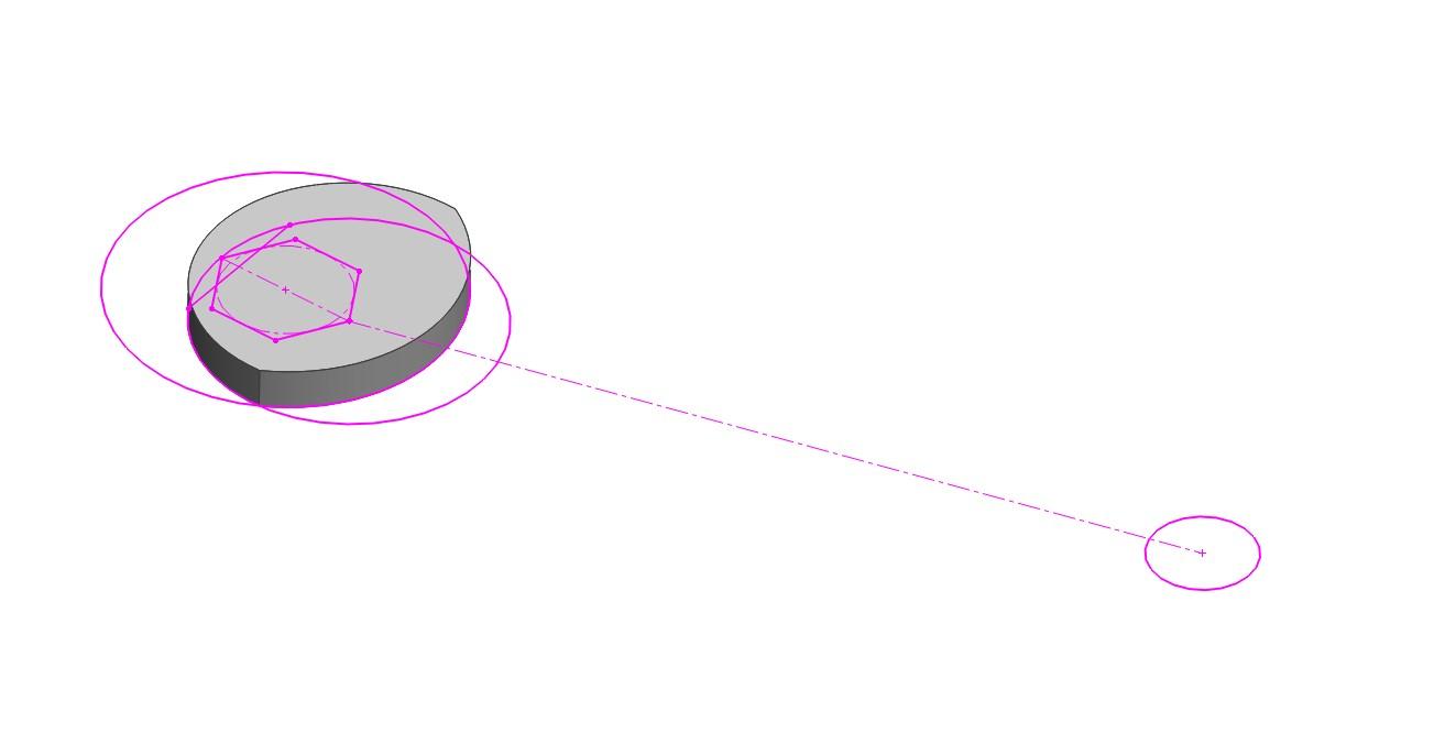 非アクティブスケッチの色の変更方法