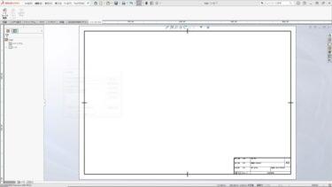 図面にロゴをコピーして貼りつける-DXF_SOLIDWORKS